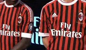 Милан презентовал новый дизайн формы