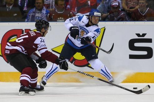 ЧМ. Латвия отбирает очки у Финляндии