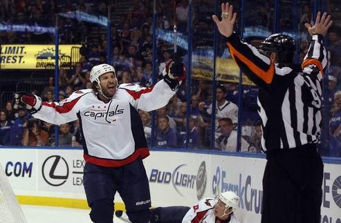 НХЛ. Третье поражение Вашингтона