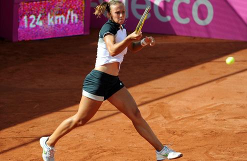 Цуренко оступилась на старте турнира в Праге