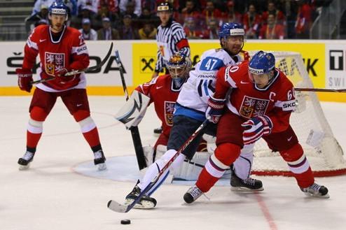 ЧМ. Чехия минимально обыграла Финляндию
