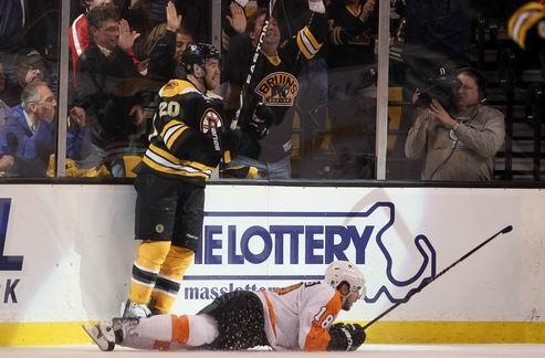 НХЛ. Бостон разобрался с Филадельфией
