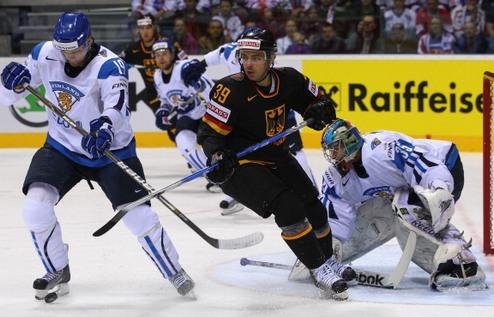 ЧМ. Финляндия вырвала победу у Германии в серии буллитов