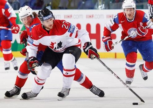 ЧМ. Канада не без проблем одолела Норвегию