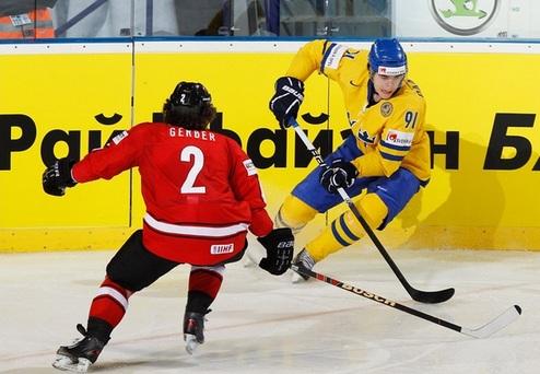 ЧМ. Швеция в упорной борьбе одолела Швейцарию