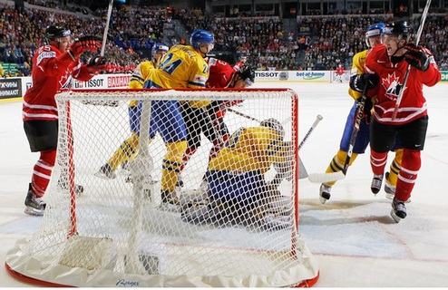 ЧМ. Канада минимально побеждает Швецию
