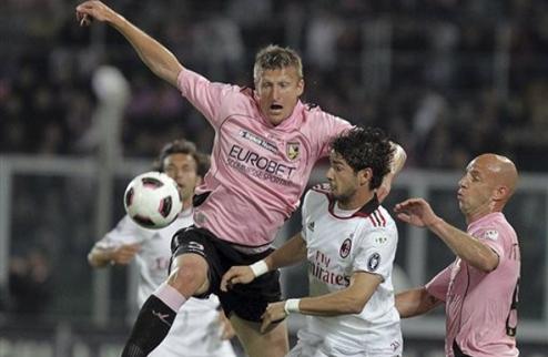 Палермо бьет Милан на пути к финалу Кубка + ВИДЕО