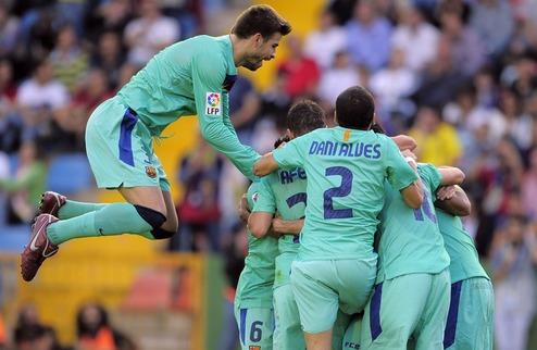 Барселона оформляет чемпионство + ВИДЕО