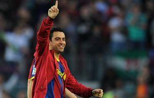"""Хави: """"Поздравляем всю Барселону"""""""