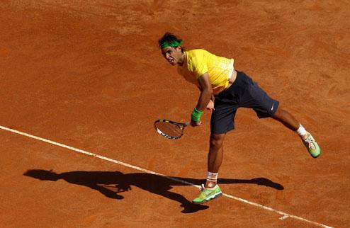 Надаль стал первым четвертьфиналистом в Риме