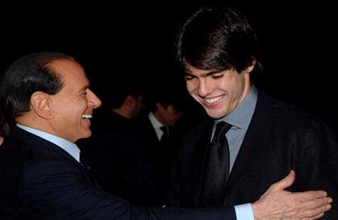 Берлускони приглашает Кака в Милан