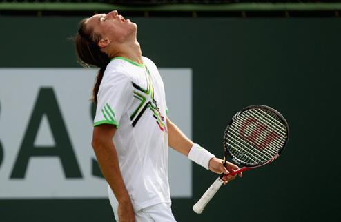 Долгополов не смог пробиться в парный четвертьфинал в Риме