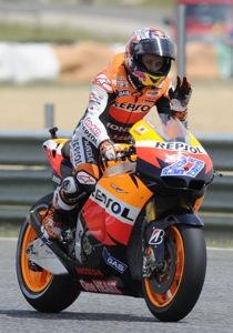 MotoGP. Гран-при Франции. Практика №1. Стоунер вернулся на вершину