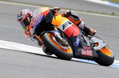 MotoGP. Гран-при Франции. Стоунер лидирует после пятничных тренировок