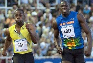 """Легкая атлетика. Гэй: """"Постараюсь настичь Болта"""""""