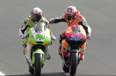 MotoGP. Стоунер оштрафован на 5000 евро