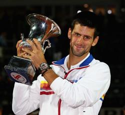 Джокович о триумфе на турнире в Риме