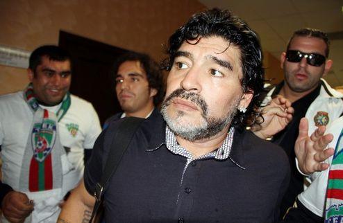 Марадона будет работать в ОАЭ