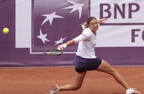 Брюссель (WTA). Пир бита уже в первом раунде