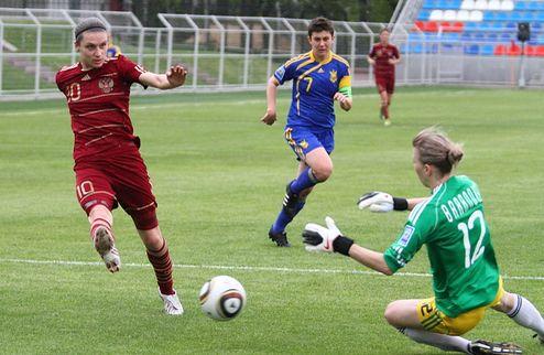 Украинские футболистки не дали обыграть себя россиянкам