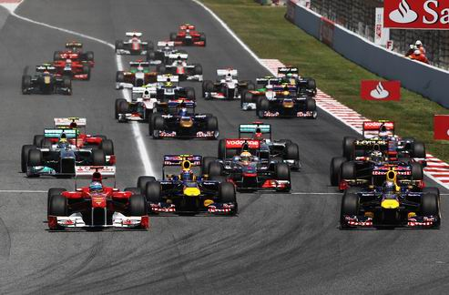 Гран-при Испании. Провал Феррари, победа Феттеля, успех Макларен