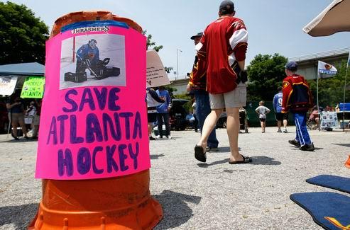НХЛ. Переговоры по продаже Атланты в Виннипег подходят к концу