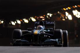 Гран-при Монако: ФИА запретила использование DRS в тоннеле
