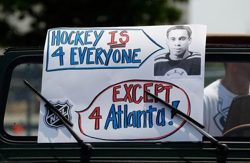 """НХЛ. Мэр Атланты: """"Всегда сложно терять команду"""""""