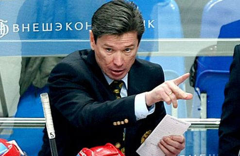 Быков уволен с поста главного тренера сборной России