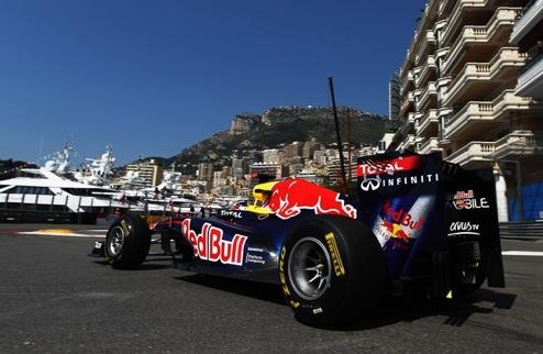 Гран-при Монако. Практика №1. Алонсо не удалось опередить Феттеля