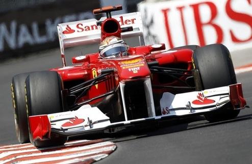 Гран-при Монако. Практика №3. Победа Алонсо и проблемы Росберга