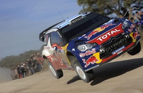 WRC. Ралли Аргентины. Лёб возвращается в призовую тройку