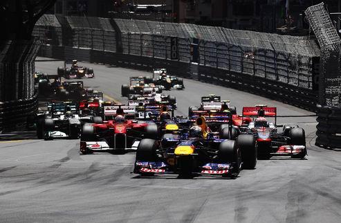 Гран-при Монако. Потрясающую гонку выиграл Феттель!
