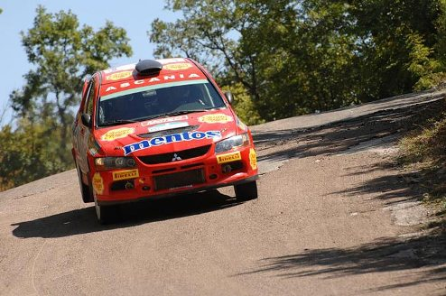 Mentos Ascania Racing �������� �� Prime Yalta Rally