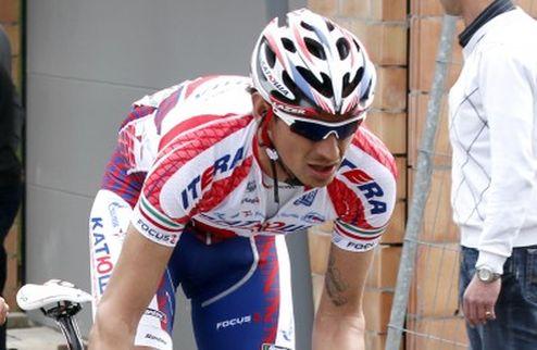 Велогонщик Катюши получил серьезную травму после падения на туре Бельгии