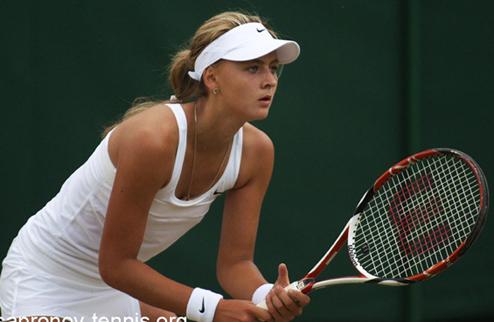 Заневская вышла в парный четвертьфинал на юниорском Ролан Гаррос