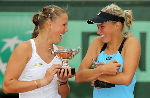 Градецки и Главацкова стали чемпионками Ролан Гаррос-2011