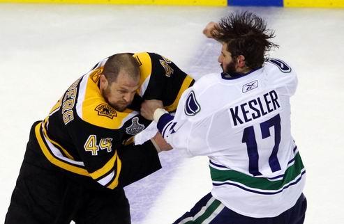 НХЛ. Рекорды третьего матча Бостона и Ванкувера