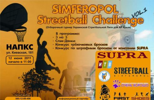 УСЛ-2011. Simferopol Streetball Challenge 2011