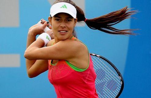 Бирмингем (WTA). Иванович не заметила соперницу, тяжелая победа Пенг
