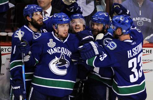 НХЛ. Люонго спасает, Ванкувер побеждает