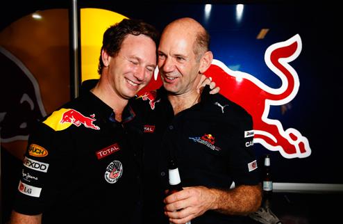 Хорнер и Ньюи о работе в Red Bull и любви к Формуле-1