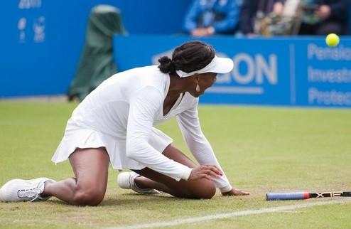Истбурн (WTA). Тяжелая победа В. Уильямс, Петрова зачехляет ракетку