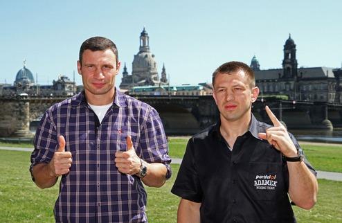 Адамек начал подготовку к поединку с Кличко