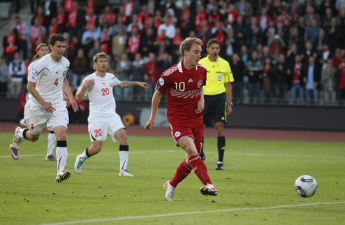 Евро-2011 U-21. Дания сильнее Беларуси + ВИДЕО