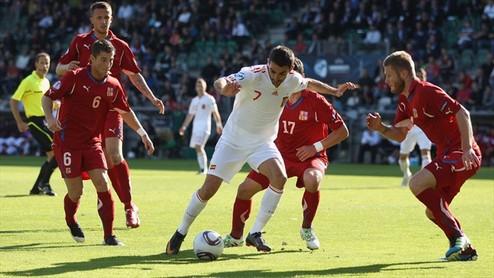 Евро-2011 U-21. Испания легко побеждает Чехию + ВИДЕО