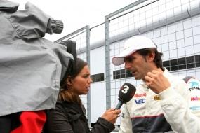 Де ла Роса может принять участие в Гран-при Европы