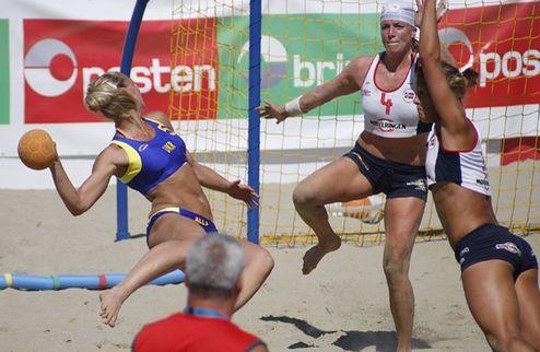 Пляжный гандбол. ЧЕ-2011. Сборные Украины узнали своих соперников