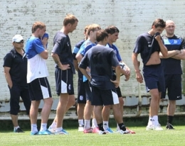 Футболисты Черноморца приступили к тренировкам