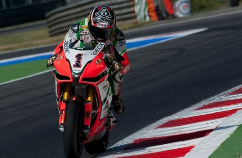 Superbike. Гран-при Испании. Бьяджи – Меландри – 1:1